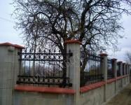 Портални врати, решетки, парапети, огради и изделия от ковано желязо и кухи профили