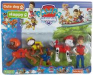 Детски комплект 5 фигури Пес Патрул Paw Patrol