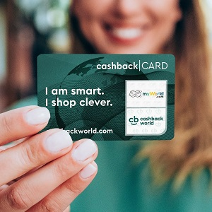I shop clever. Cashback world